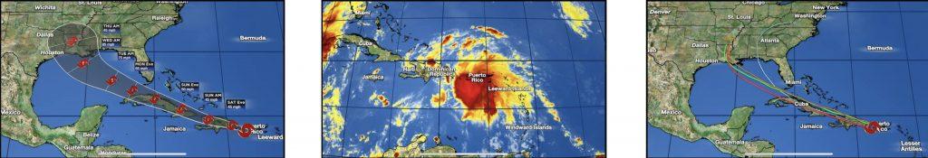 Graphics of TS Laura over Culebra